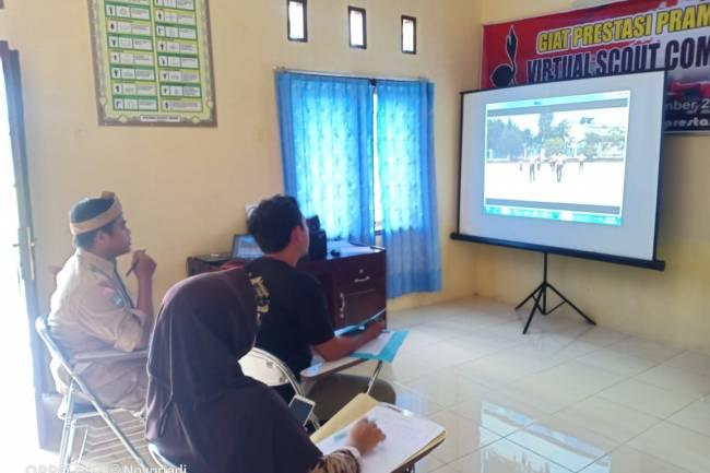 "Giat Prsetasi Pramuka Tebo ""Virtual Scout Competition"""